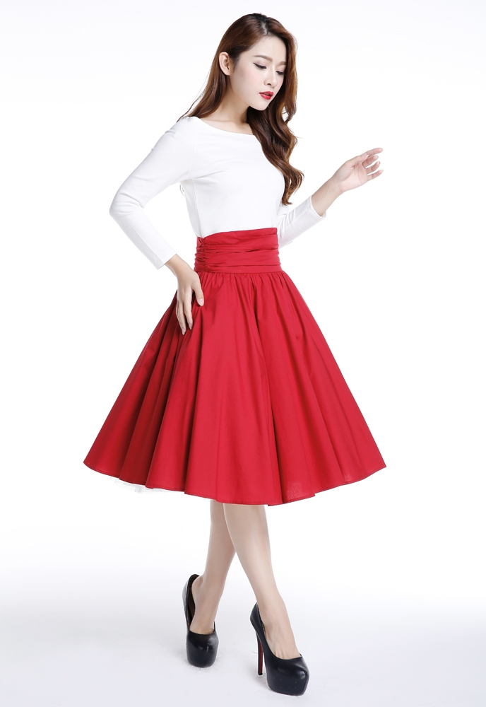 No.7058 Plus Size Skirt