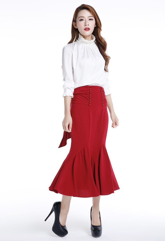 No.7068 Plus Size Skirt