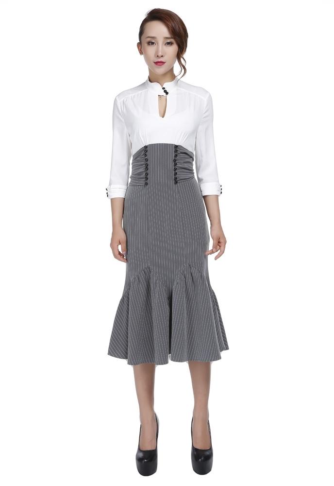 No.706S Plus Size Dress