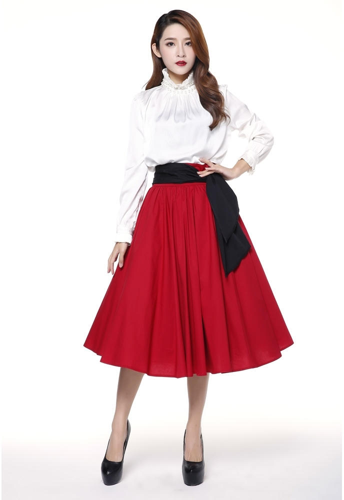 No.7078 Plus Size Skirt