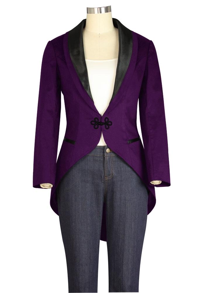 No.7717 Plus Size Jacket