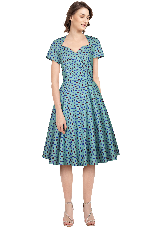 No.820F Plus Size Dress