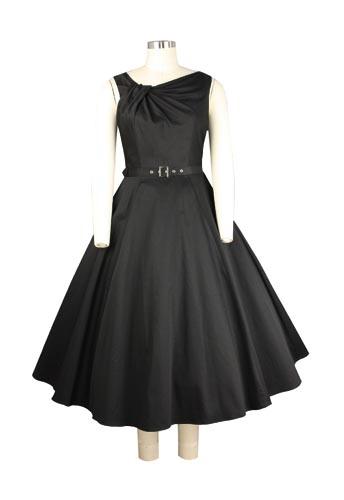 Irregular Collar Dress