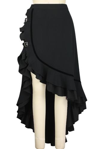 Asymmetric Steampunk Skirt