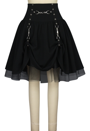 Gothic Buckle Skirt