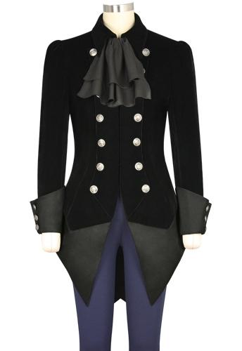 Bow Steampunk Jacket