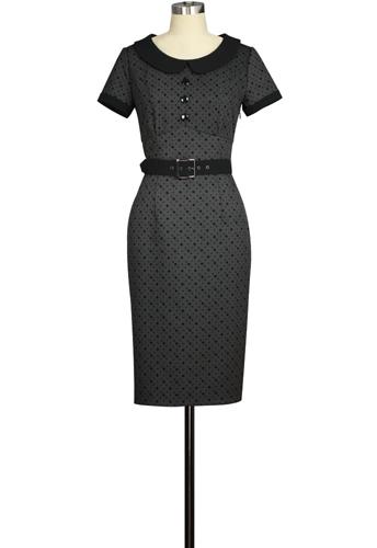 Button Retro Dress