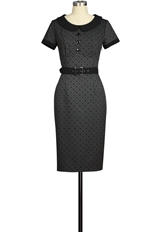 Button Retro Dress