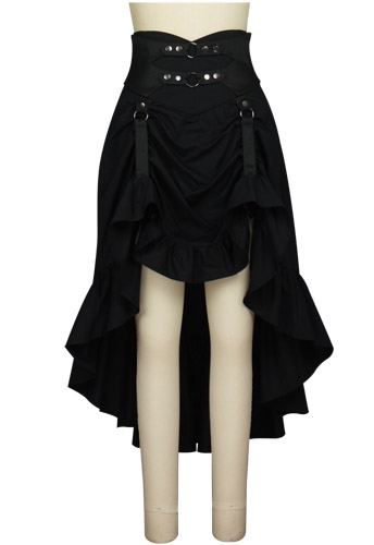 Buckle Steampunk Skirt