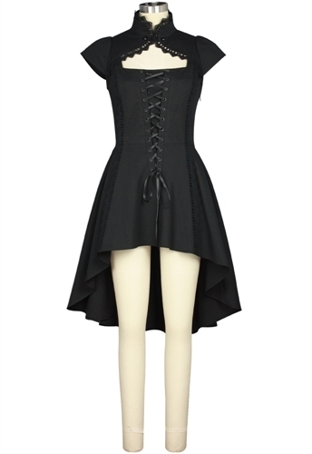 Lace-up Steampunk Dress