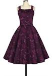 Buttons Rockabilly Dress