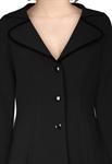 Trims Collar Jacket