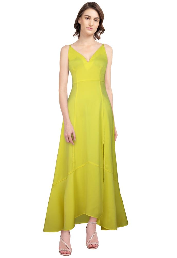 High Slit Maxi Dress