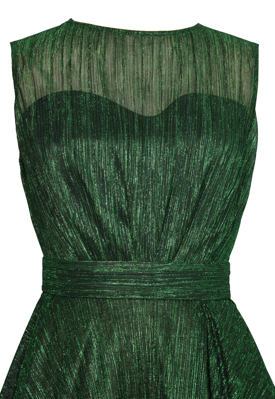 Metallic Stripe Dress