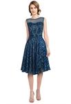 Metallic Embellished Dress