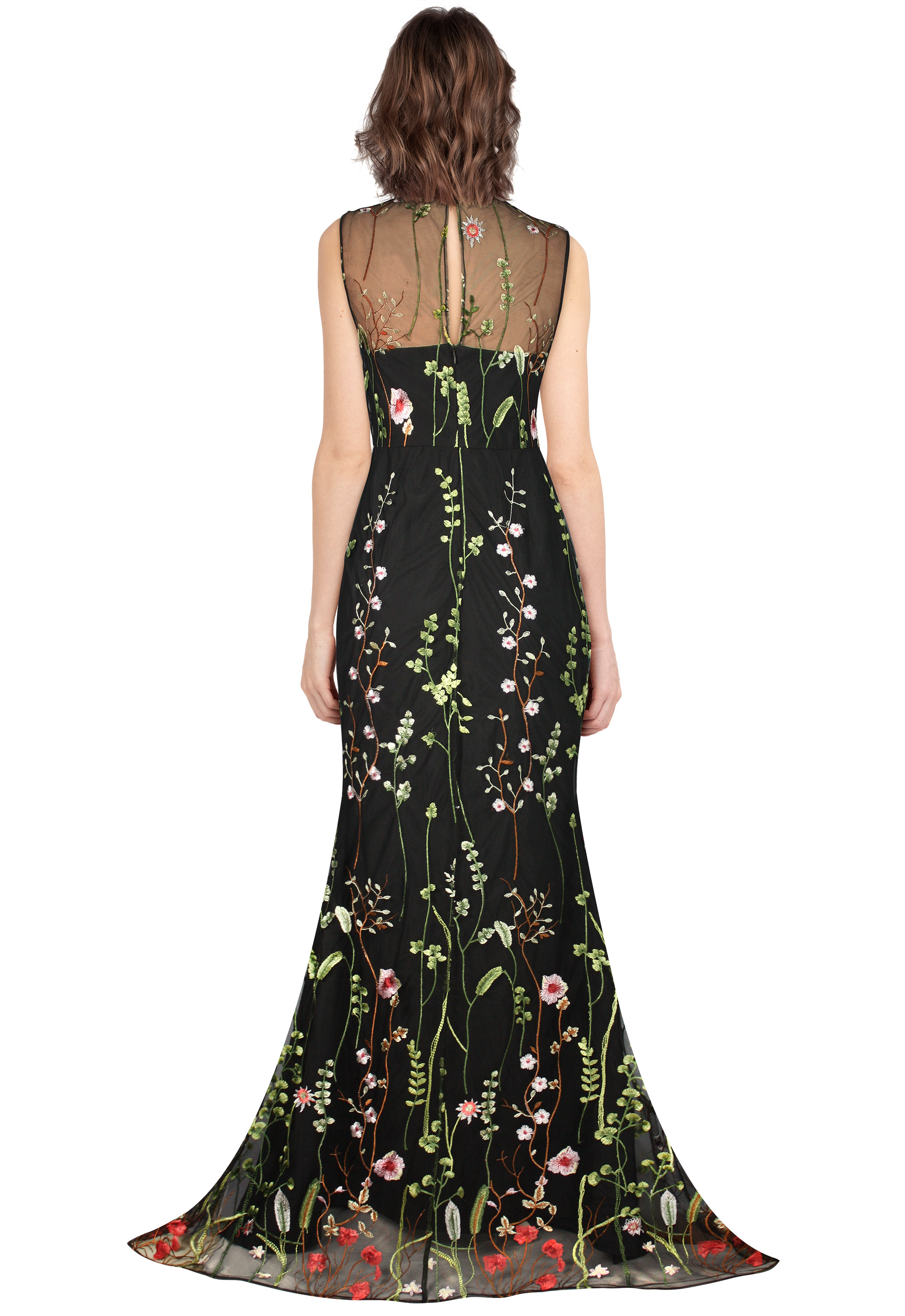 Embroideried Gown