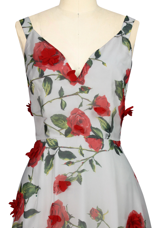 3D Floral Dress