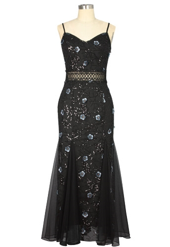 Sequin Evening Dress