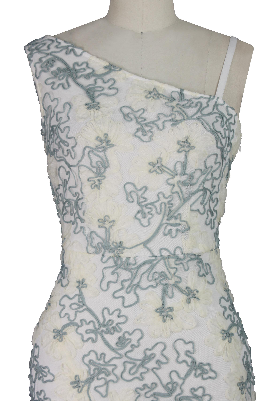 Soutache Maxi Dress