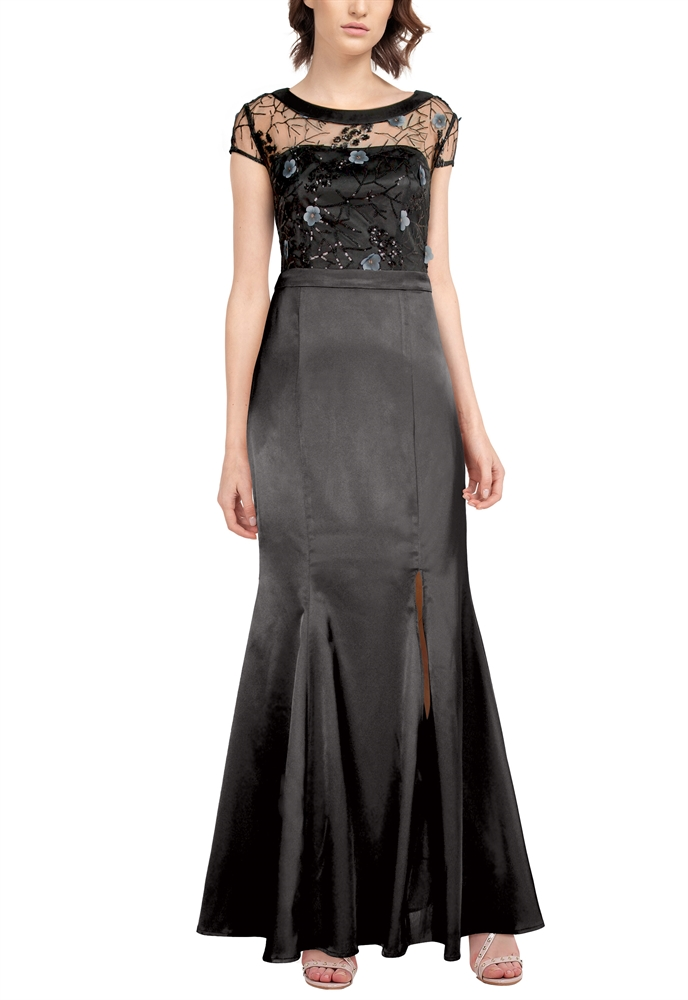 Sequin Embroidery Dress