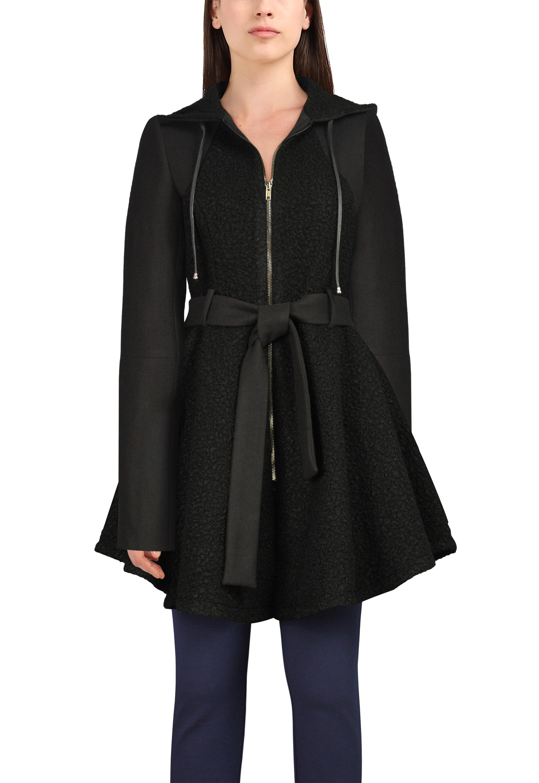 Wool Hoodie Jacket