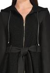 Wool Goth Hoodies Jacket