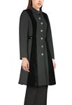 Velvet Trim Jacket