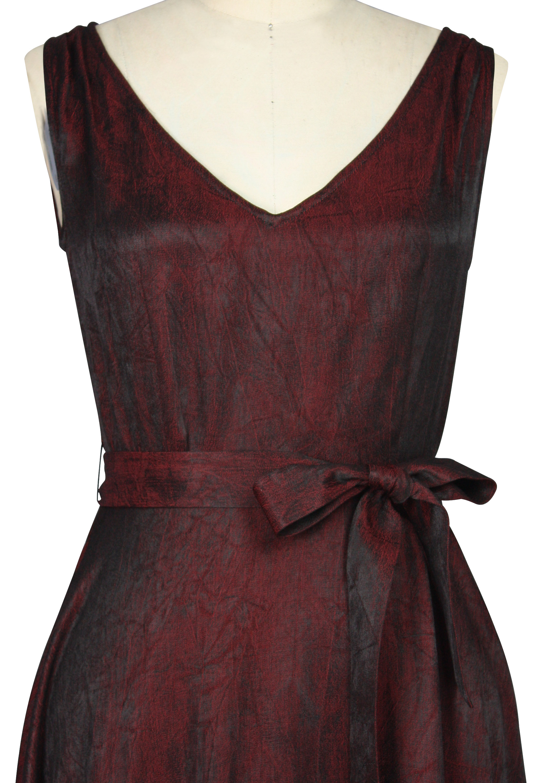Hankerchief-Hem Dress