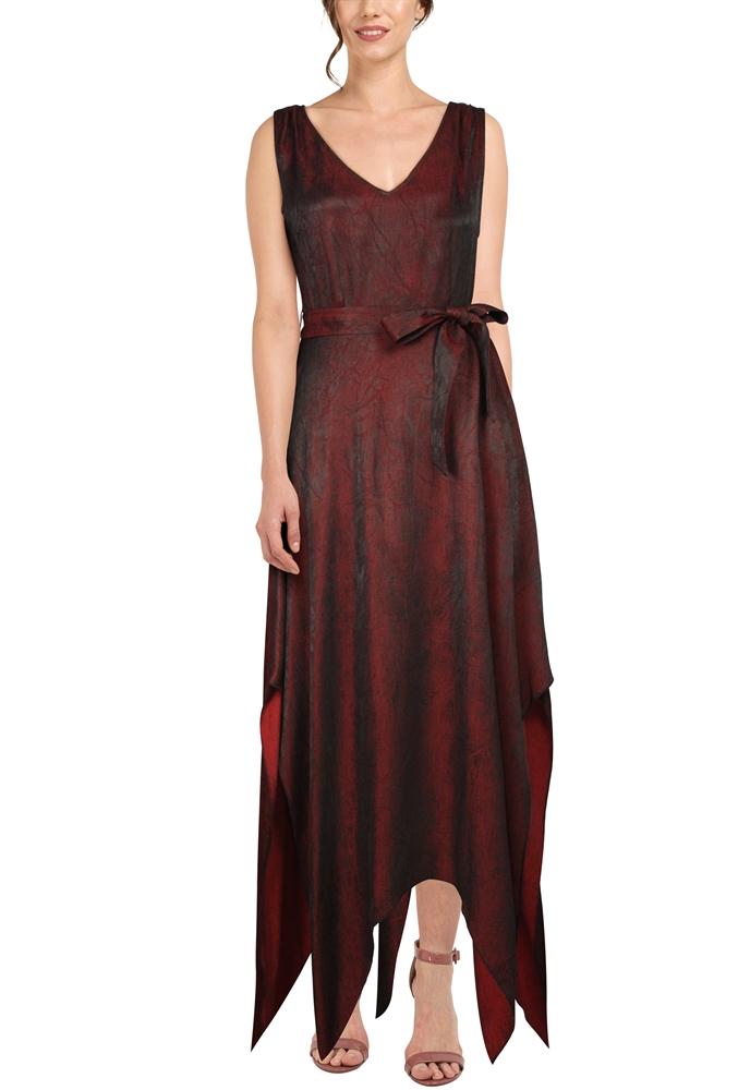 Handkerchief Hem Gothic Dress