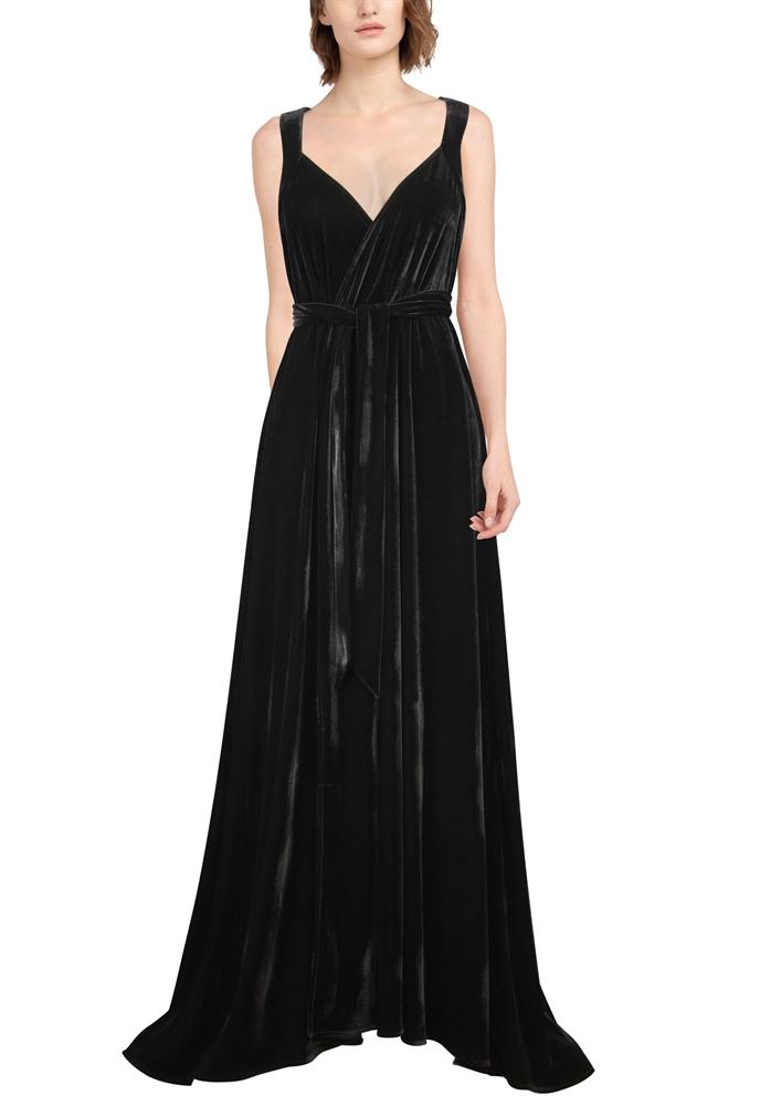 Velvet Robe Dress