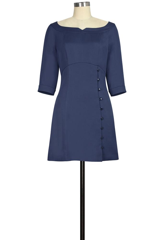 Tencel Mini Dress