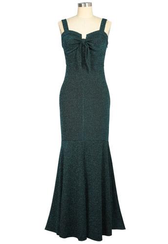 Glitter Evening Dress
