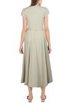 Tencel Button-down Dress