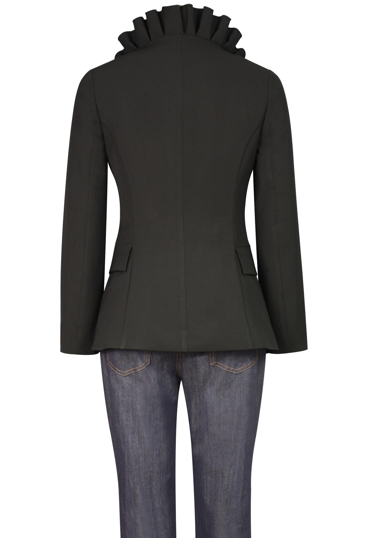 Pleated Collar Jacket