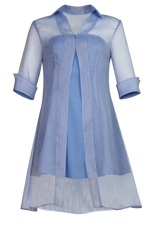 Shimmer Organza Dress