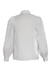 Shimmer Tie Blouse