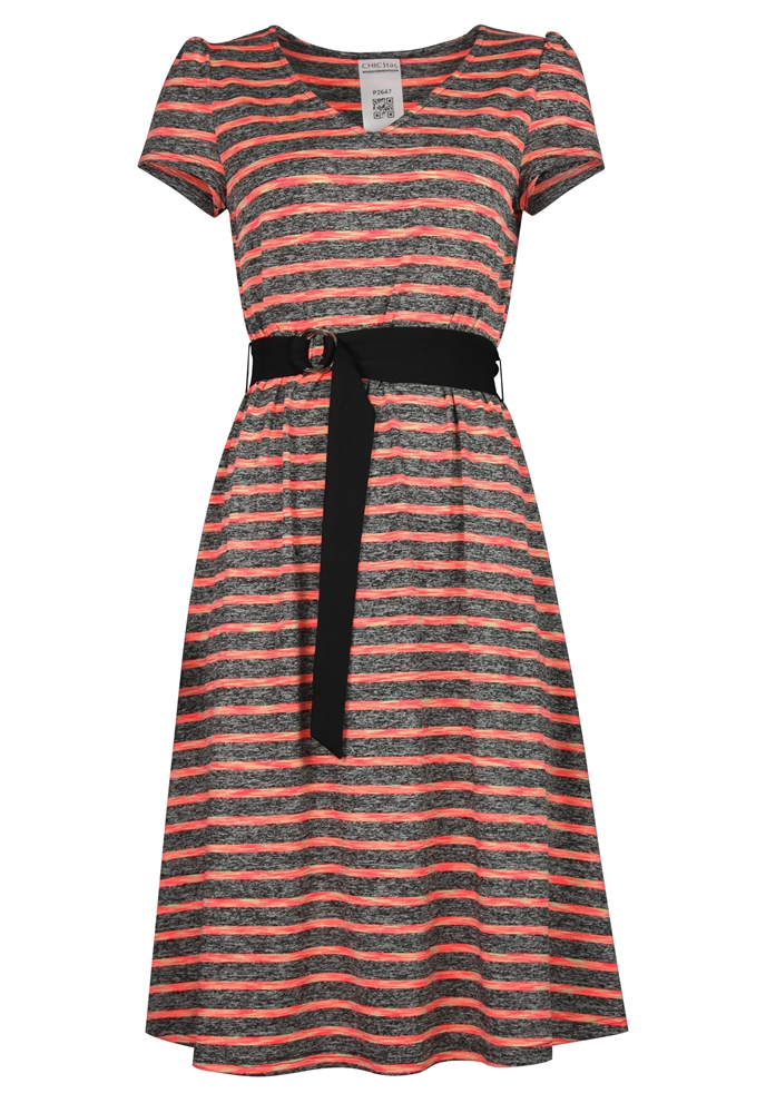 Stripes Jersey Dress