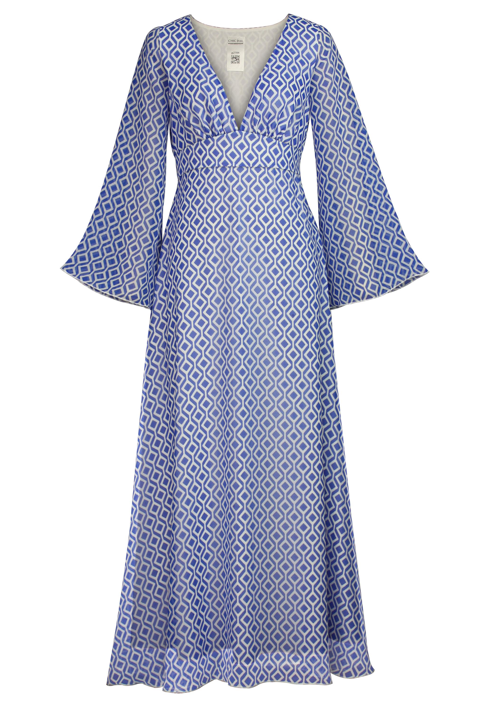 Lozenge Maxi Dress