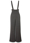 Pleated Wide Leg Overall