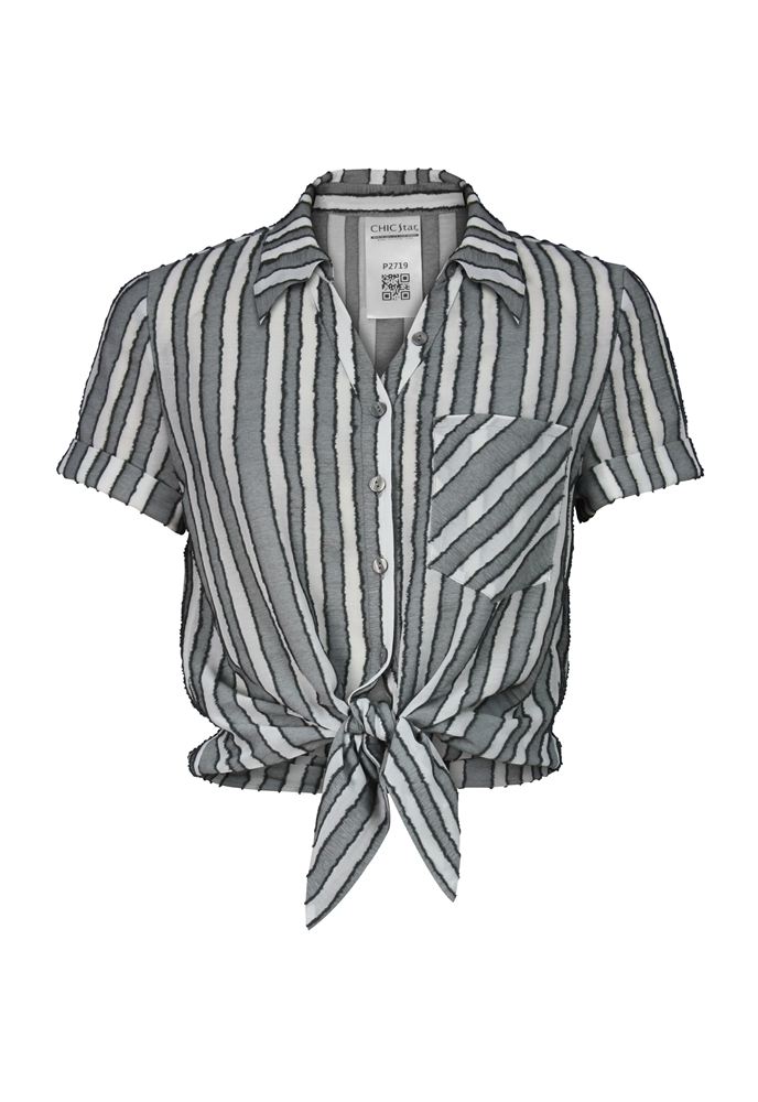 Texture Stripes Shirt