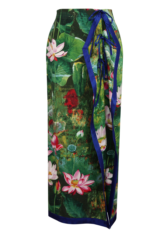 Lotus Maxi Dress