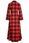 Plaid Maxi Dress