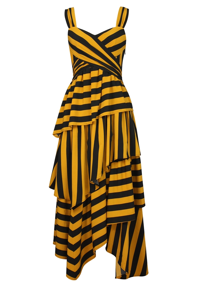 Stripes Layered Dress
