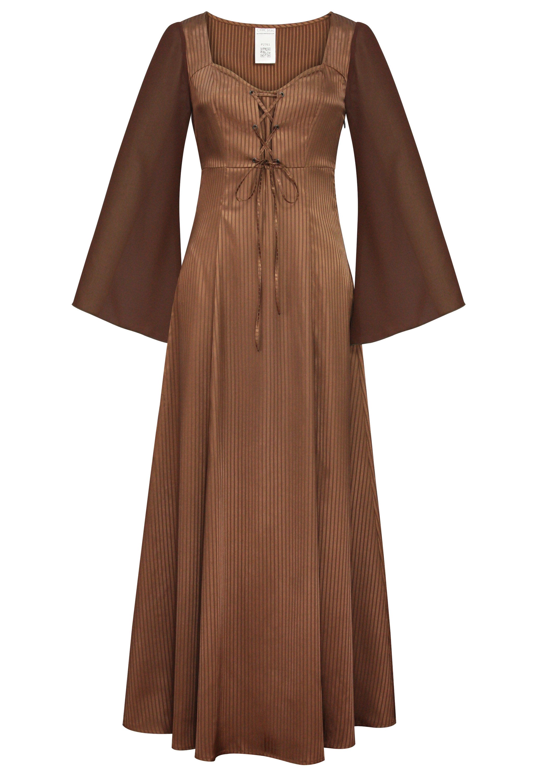 Pinstripe Maxi Dress