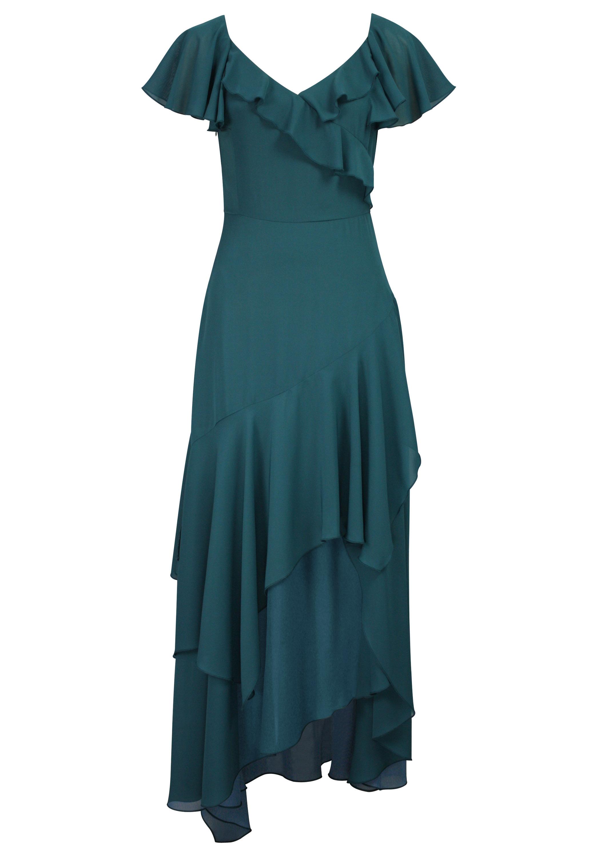 Flounce Layered Dress