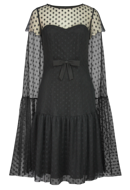 Lace Cloak Dress
