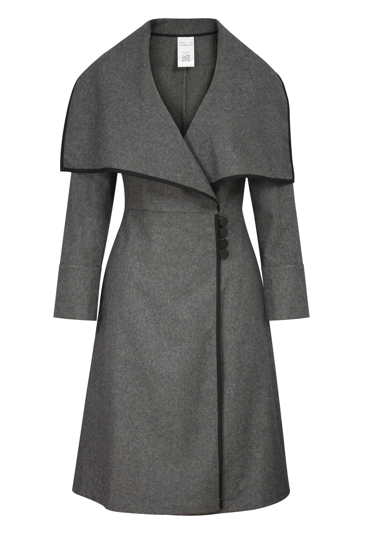 Trims Wool Jacket