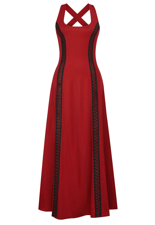 Trims Maxi Dress